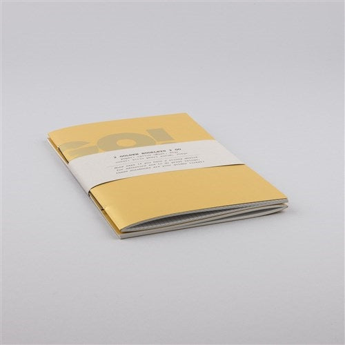 Mini notebook 'Golden years'