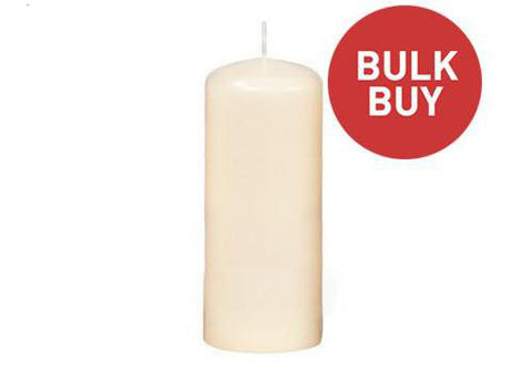 60mm x 150mm Pillar Candles Bulk Buy (72 Candles)