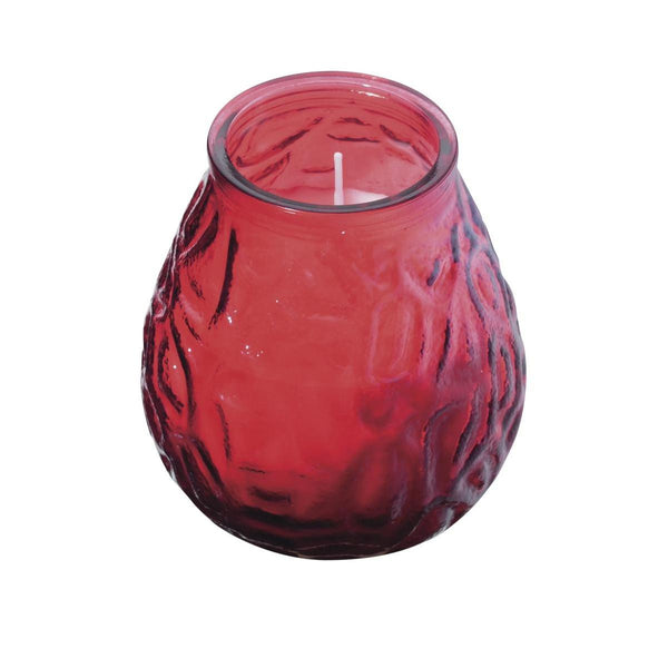 Red Lowboy Lamp Candles (12 Candles)