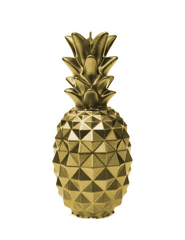 Golden Pineapple Candle - PRE-ORDER NOW!