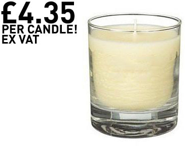 Grapefruit Scented Glass Candles (48 Candles)