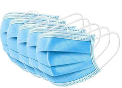 Disposable Face Masks - 3 Ply - Pack of 50 Masks