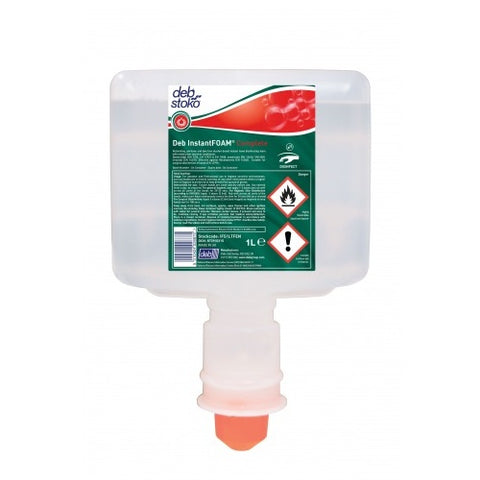 Deb Instant Foam Hand Sanitiser 1 Litre x 3 (For Touchfree Automatic Dispenser Units)
