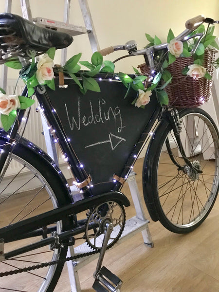 Vintage 50's Wedding Bicycle Hire
