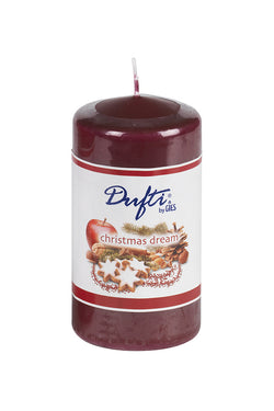 Dufti Christmas Dream Scented Pillar Candles (x4)