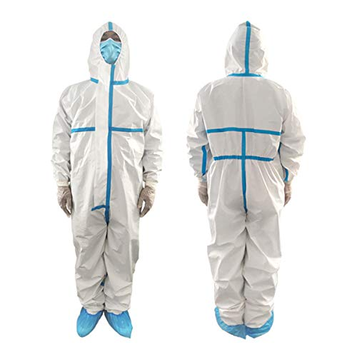 PROTECTIVE COVERALL SUIT (180CM / EXTRA LARGE) 1 Piece.