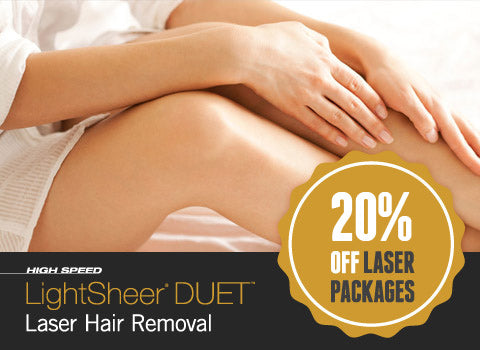 LightSheer Duet Laser Hair Removal