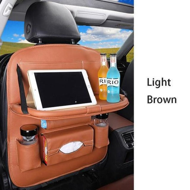 Car Storage Leather Bag