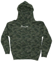 Embroidered Camo Hoodie (Two Colors) - Amoe Worldwide