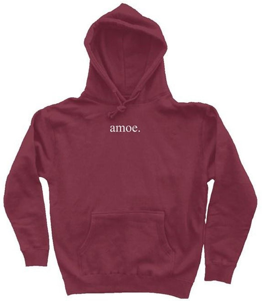 Embroidered Hoodie (Two Colors) - Amoe Worldwide