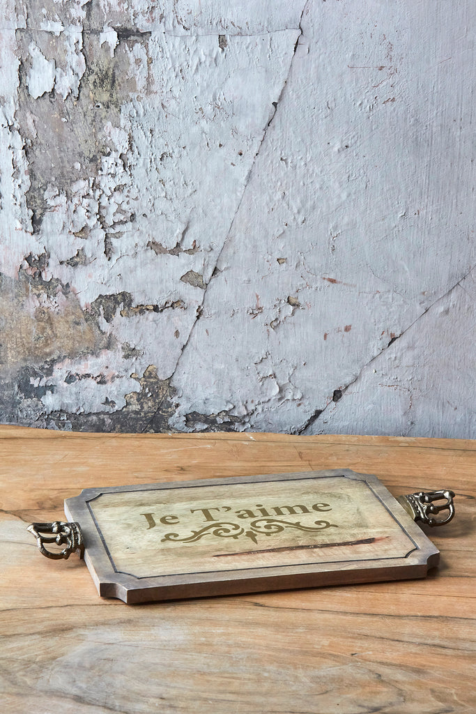 "Patina Vie ""Je T'aime"" Serving Board"
