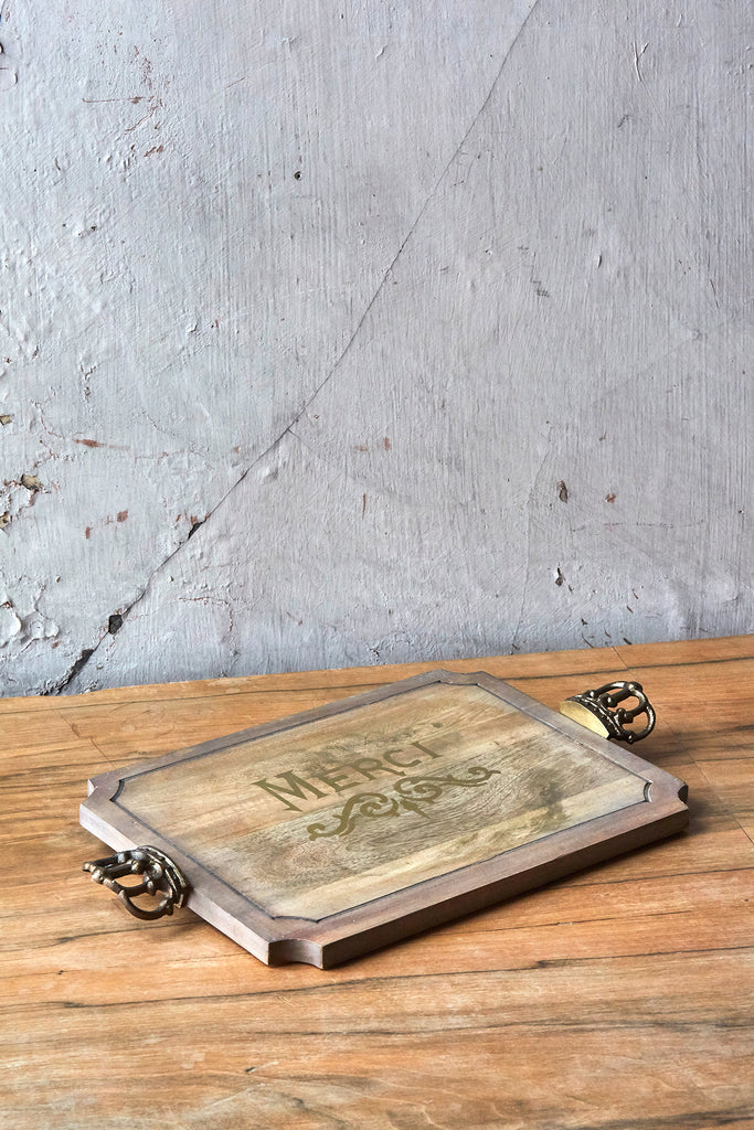 "Patina Vie ""Merci"" Serving Board"