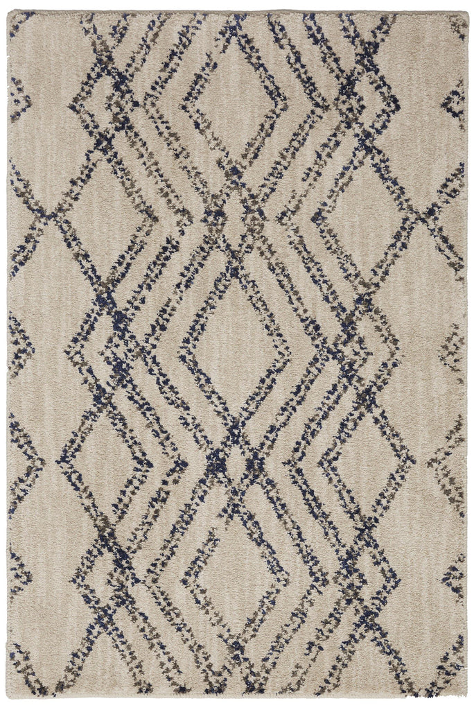French Affair Ink Blue Rug - Cosmopolitan Collection