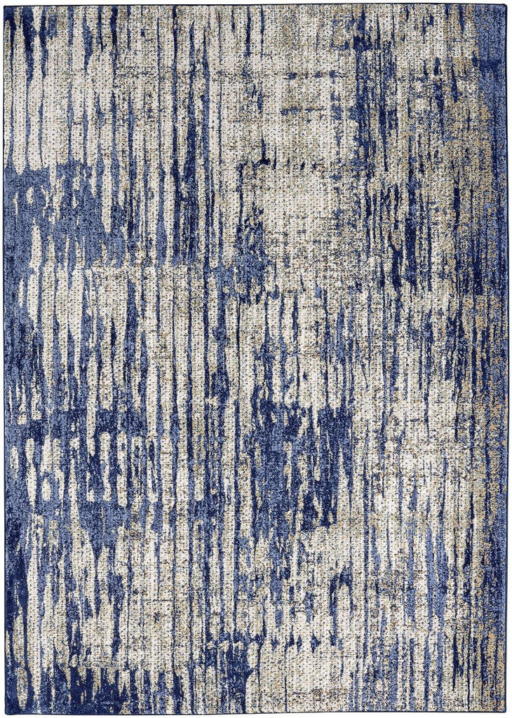 Mineral Bleu Indigo Rug - Cosmopolitan Collection - Patina Vie
