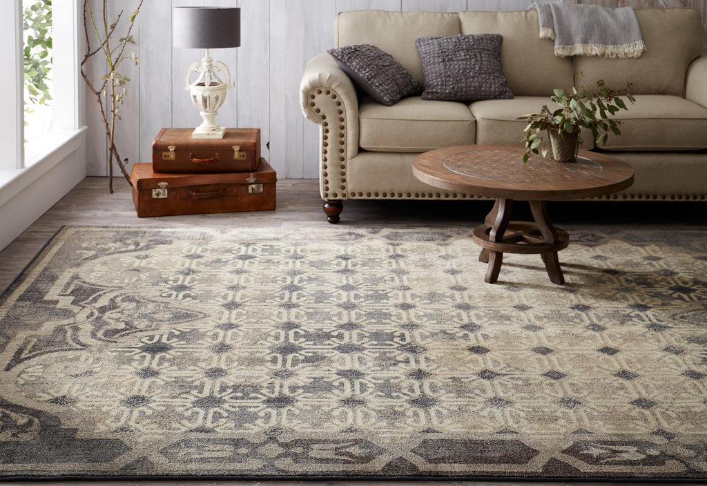 Lakeside Cottage Grey Rug - Studio Collection - Patina Vie