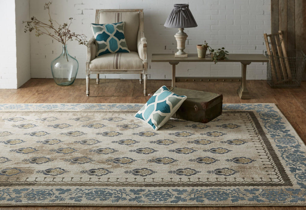 Floret Indigo Rug - Studio Collection