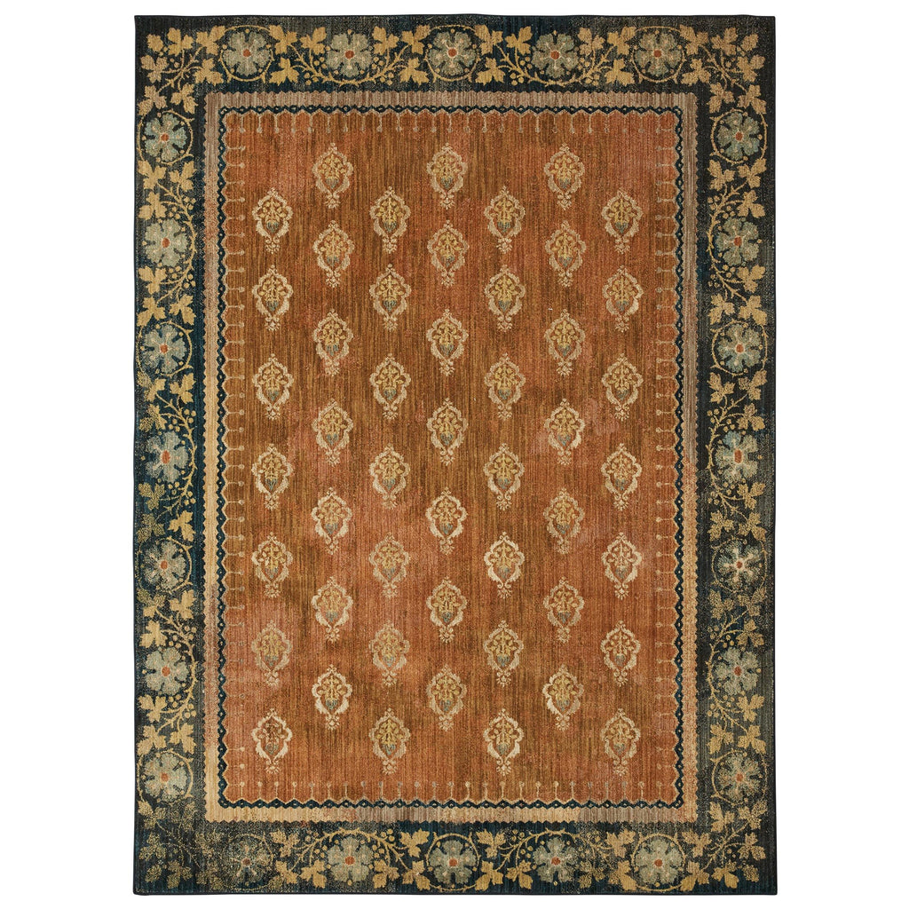 Floret Saffron Rug - Studio Collection