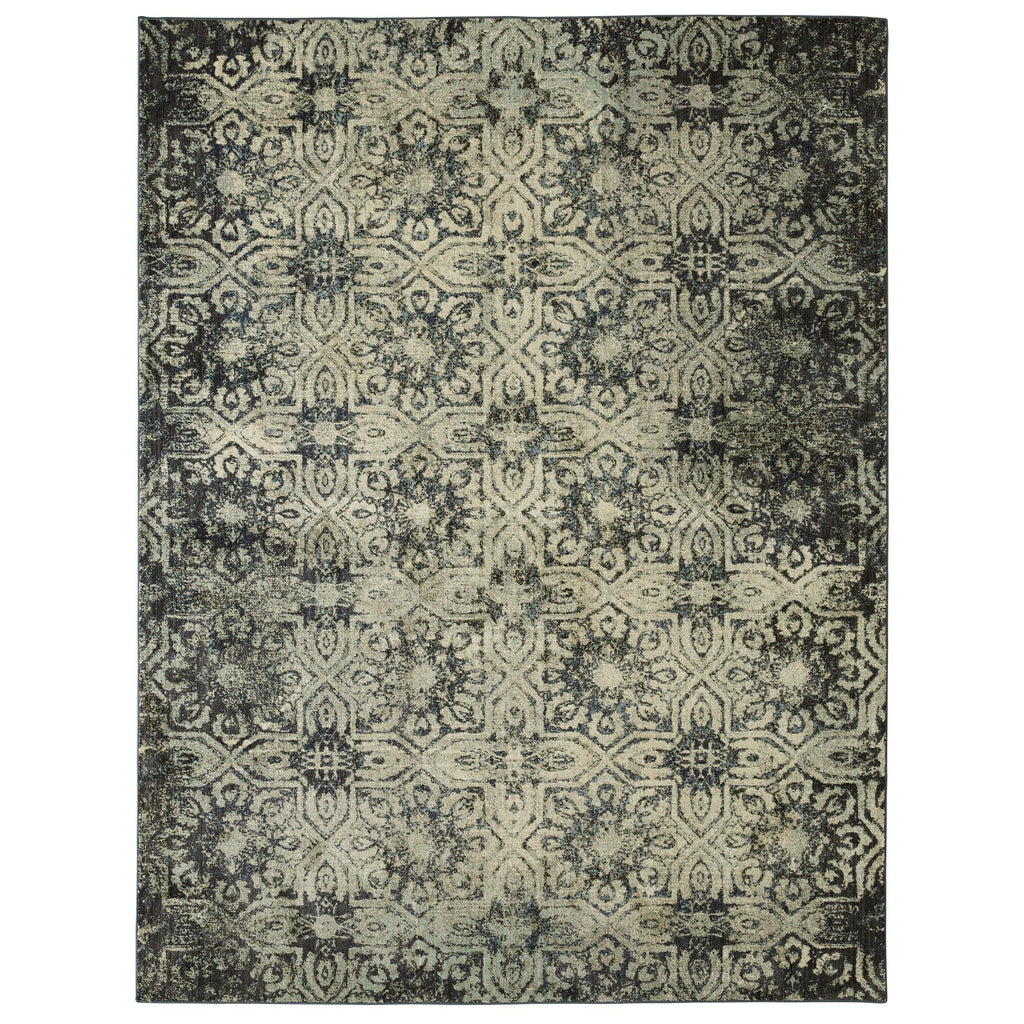 Cloisters Turquoise Rug - Studio Collection