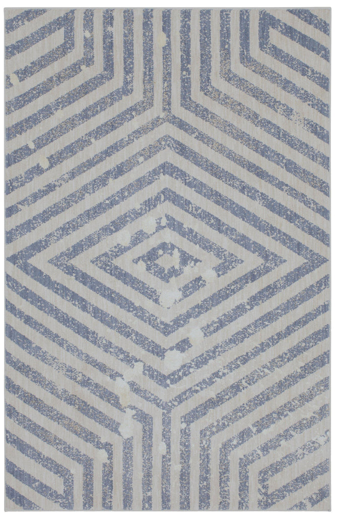 Moderne Periwinkle Rug - Cosmopolitan Collection