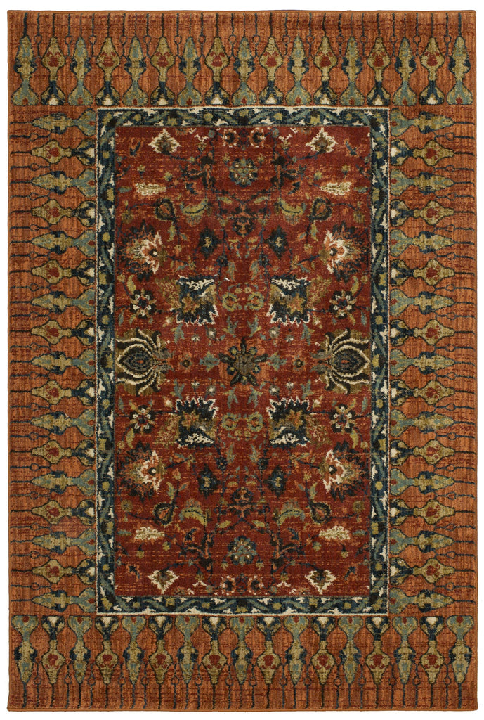 Bazaar Spice Rug - Spice Market Collection - Patina Vie