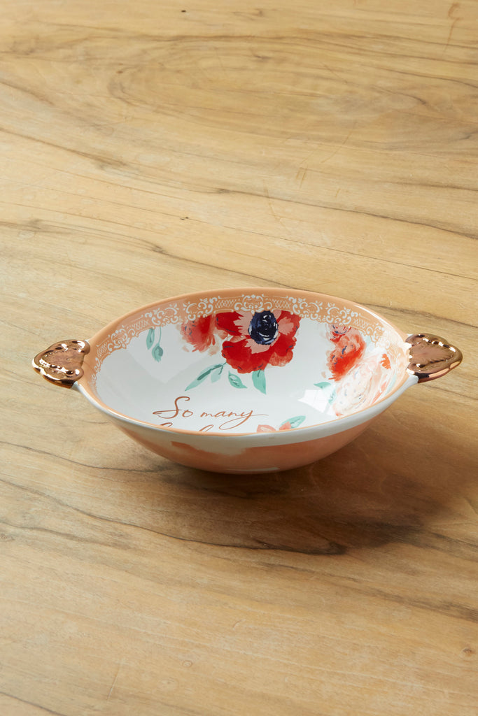 Patina Vie Lovely Things Ceramic Trinket Bowl