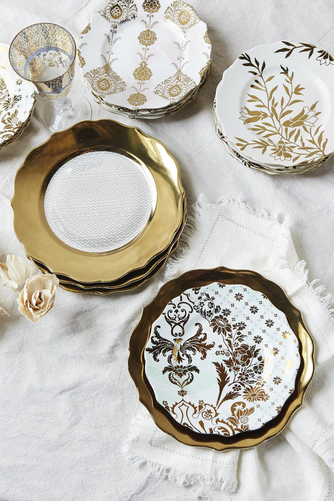 Patina Vie Chateau Luxe Blush Salad Plate