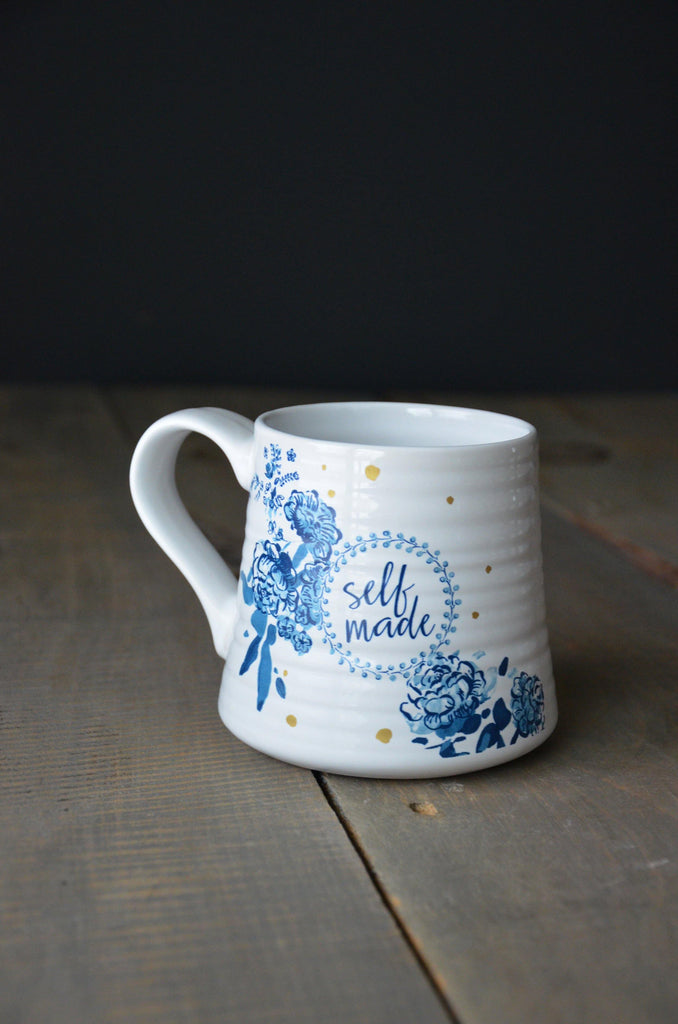 Patina Vie Happy & Bleu Mug Collection - Patina Vie