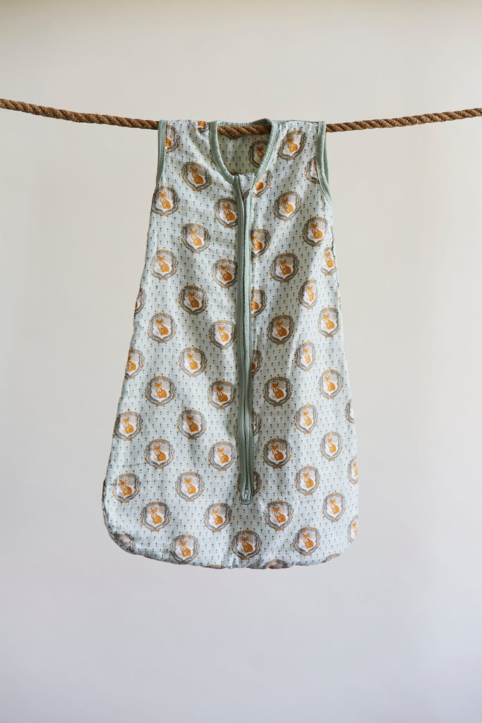 Patina Vie Nature Fox Muslin Baby Sleep Sack