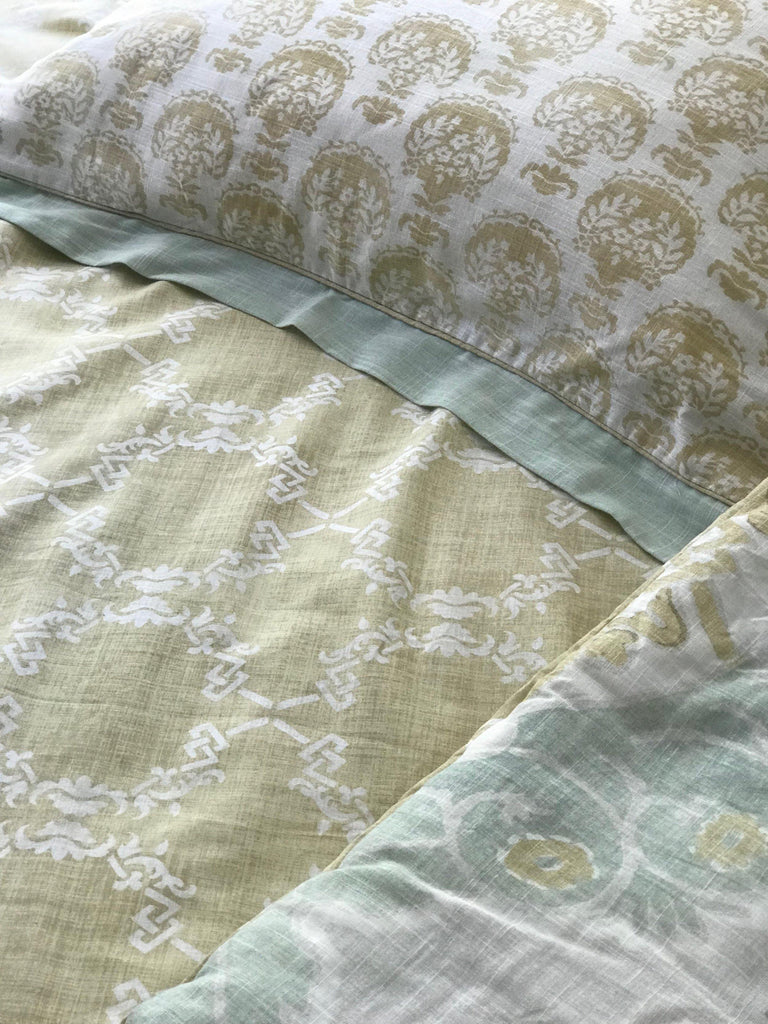 Avignon Bedding - 3pc Comforter Set - Patina Vie