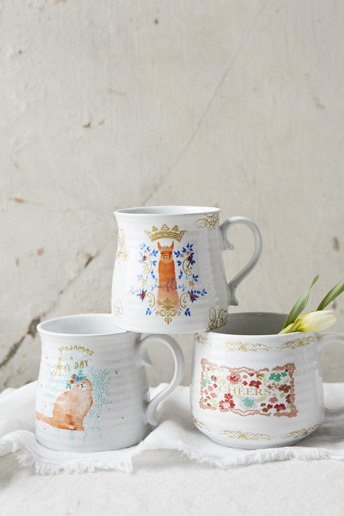 Patina Vie Vibrant Smiles Mug Collection