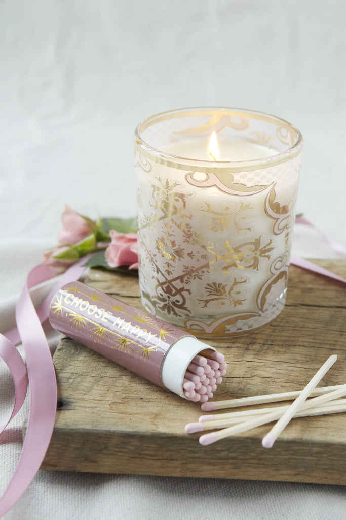 Bellissimo Candle + Matches Gift Set