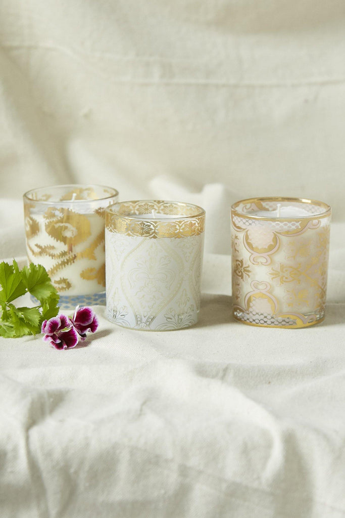 Patina Vie Winter Wonderland S/3 Candles - Patina Vie