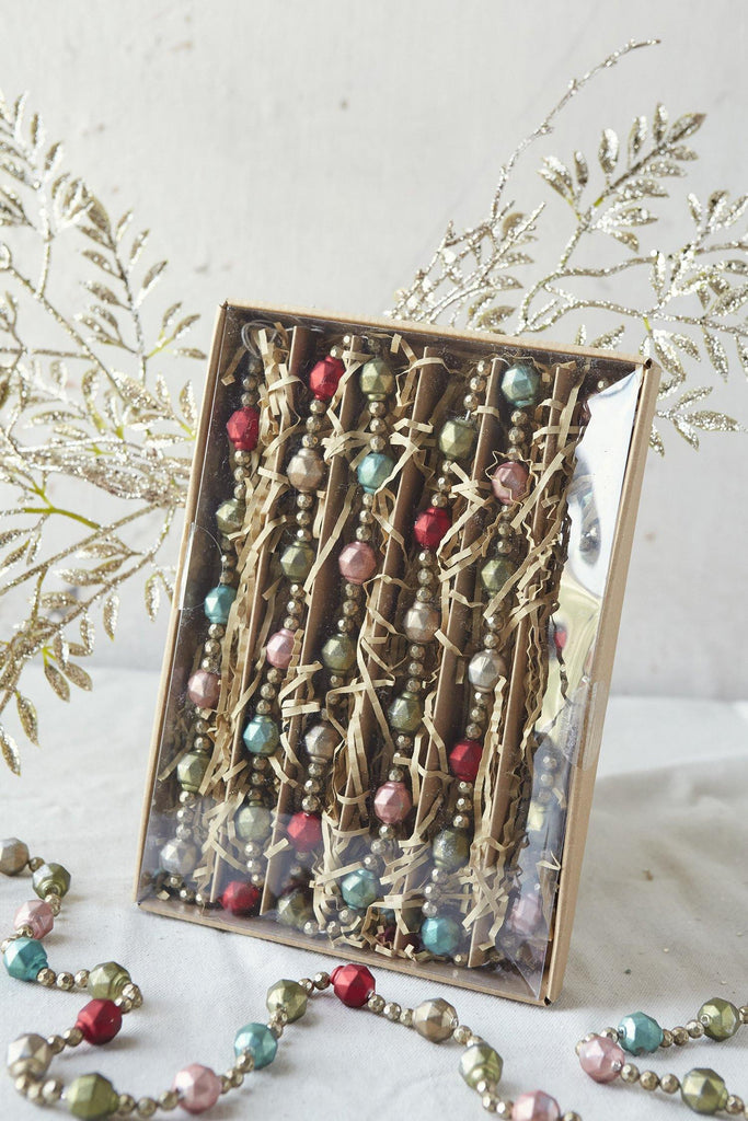 Vintage Inspired Glass Garland II