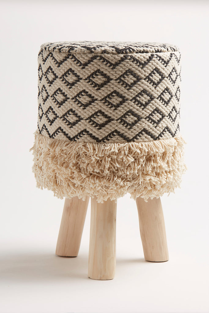Fringed Stool