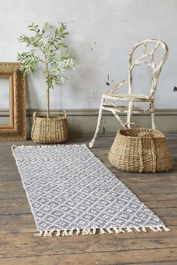 Melange Accent Rug - Grey - Patina Vie