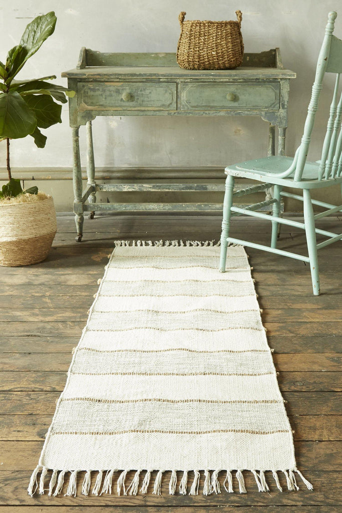 Natural Elegance Teal Accent Rug - Patina Vie