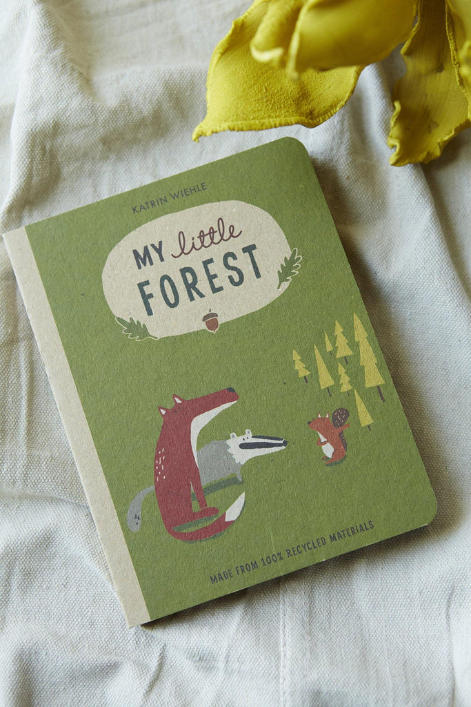 My Little Forest (A Natural World Board Book) - Patina Vie