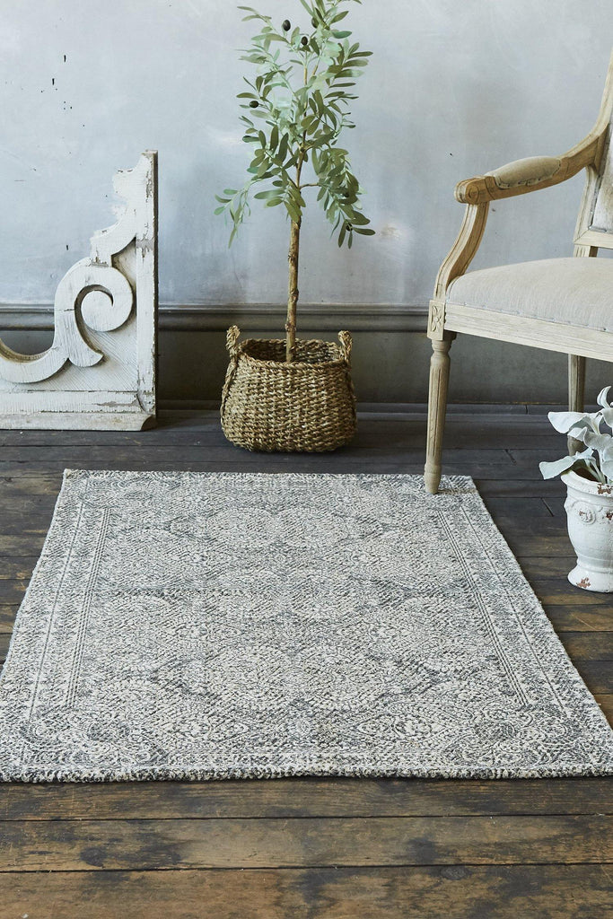Margo Accent Rug - Grey - Patina Vie