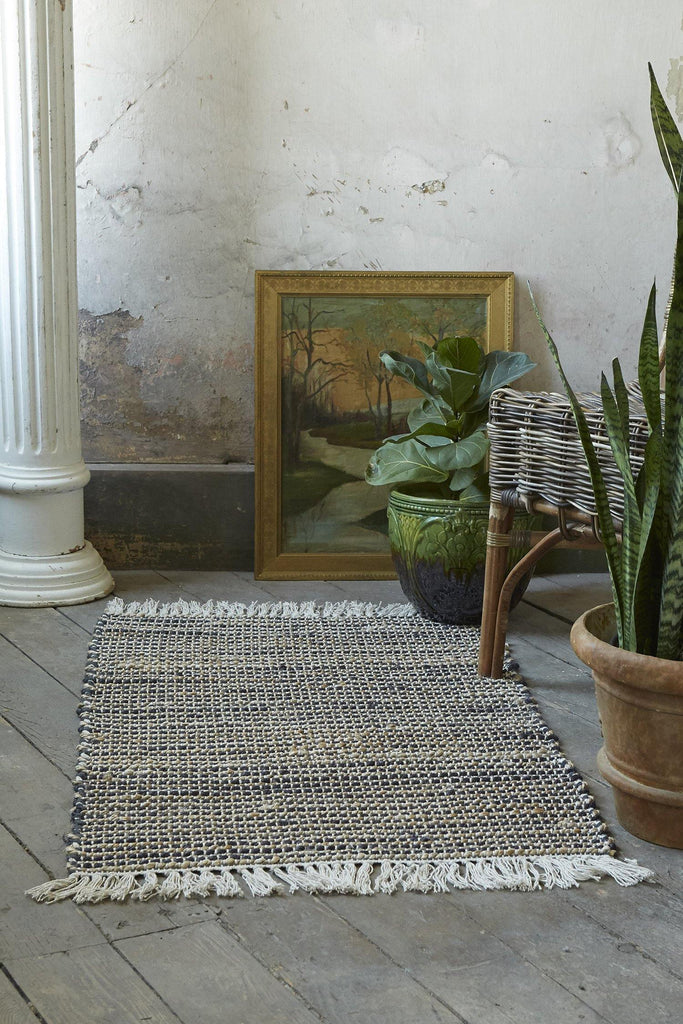 Ezra Accent Rug - Grey - Patina Vie