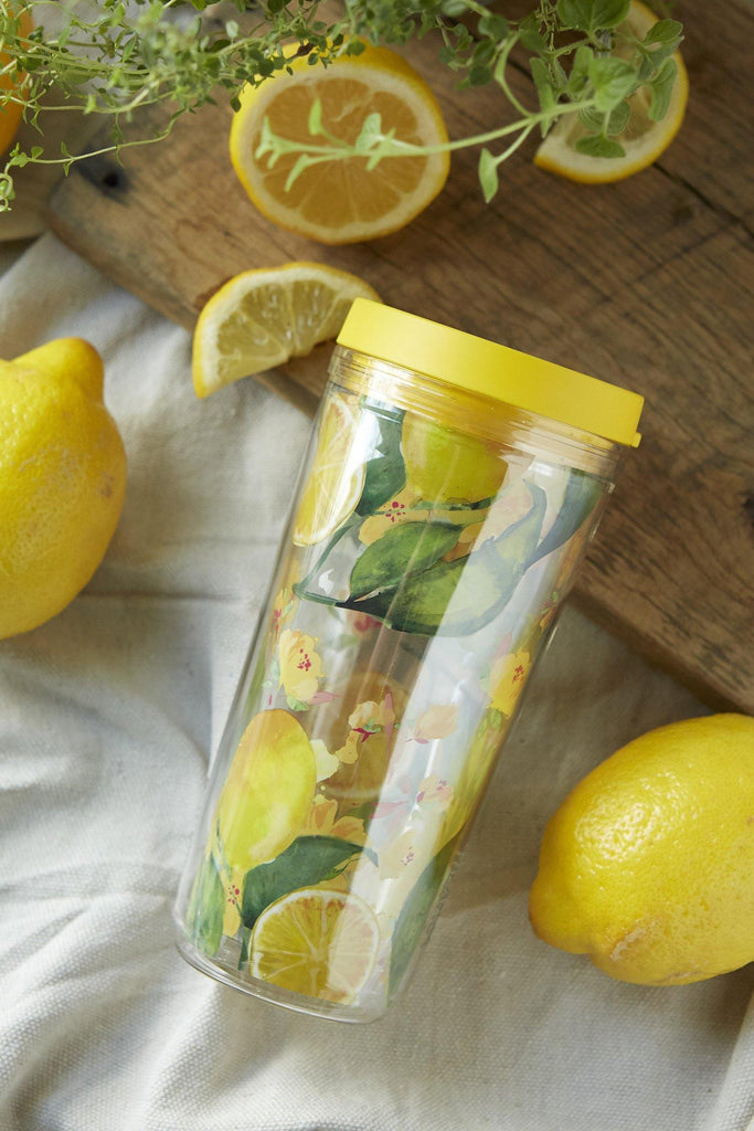Patina Vie Double Wall Citrus Tumbler