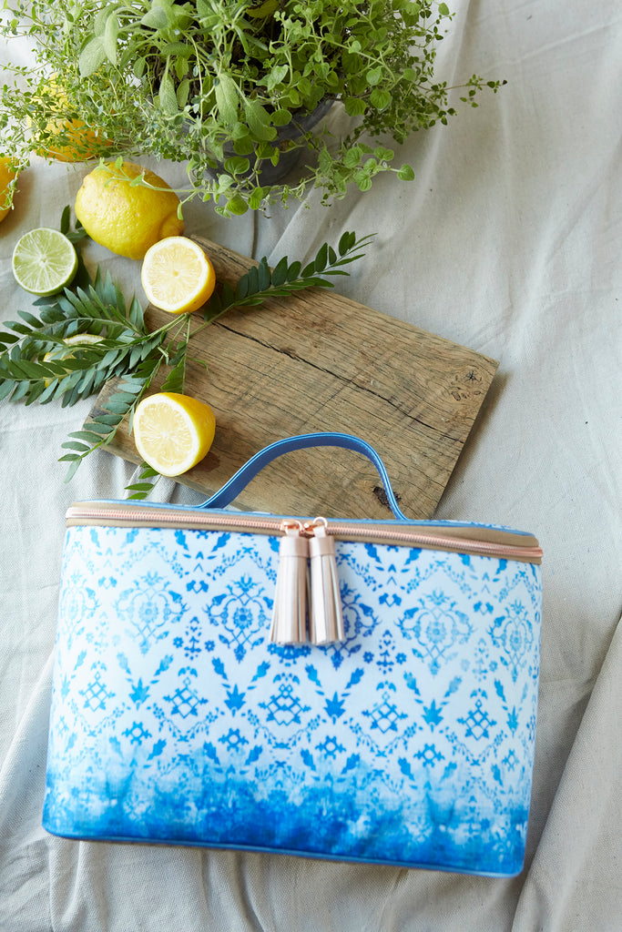Patina Vie Glam Lunch Tote Swedish Tapestry