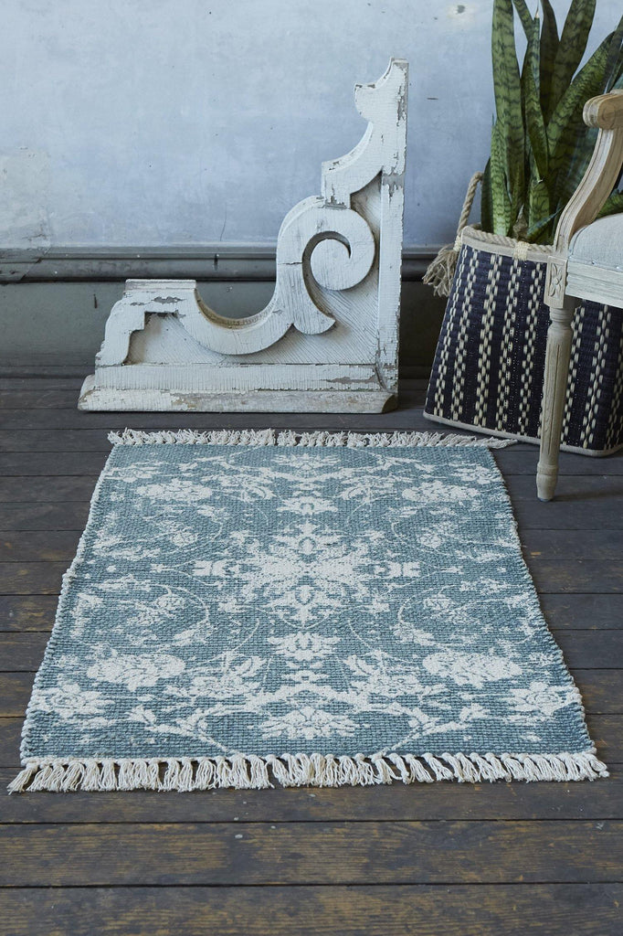 Louisa Accent Rug - Teal