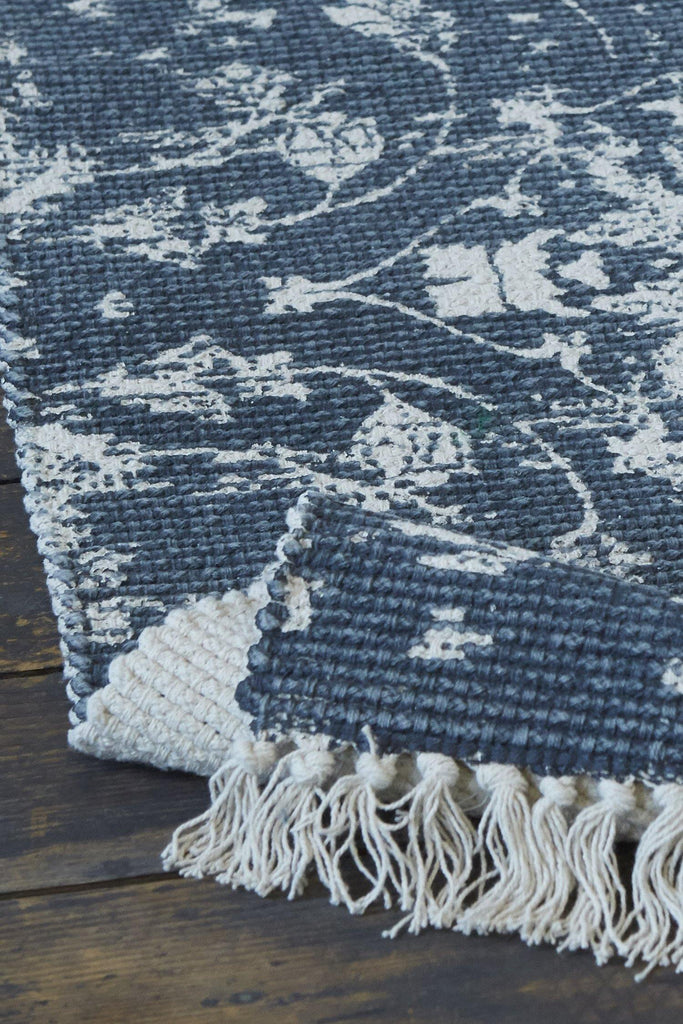 Louisa Accent Rug - Navy