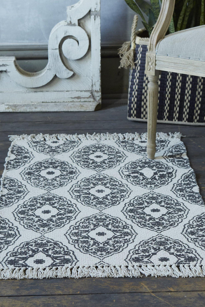 Flair Accent Rug - Dark Grey - Patina Vie