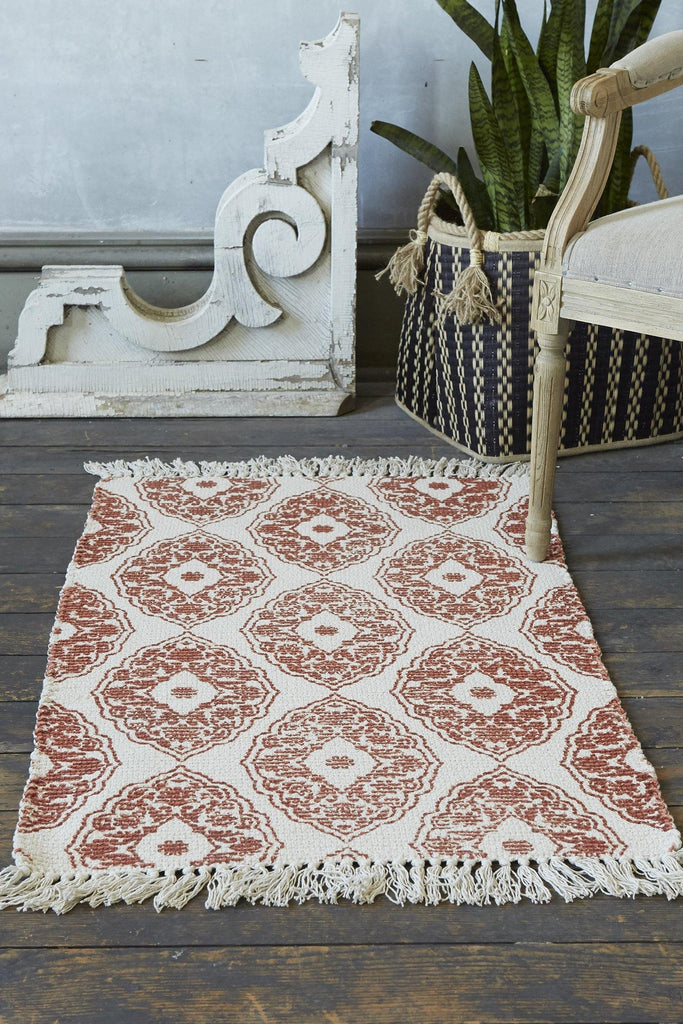 Flair Accent Rug - Terracotta