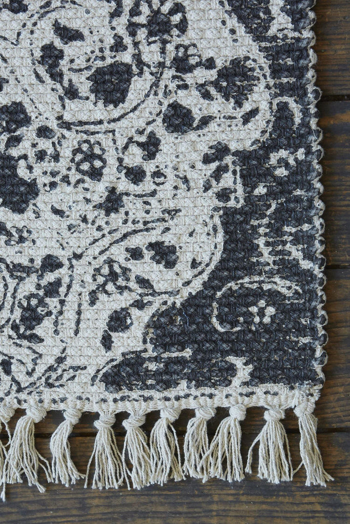 Eden Accent Rug - Dark Grey - Patina Vie