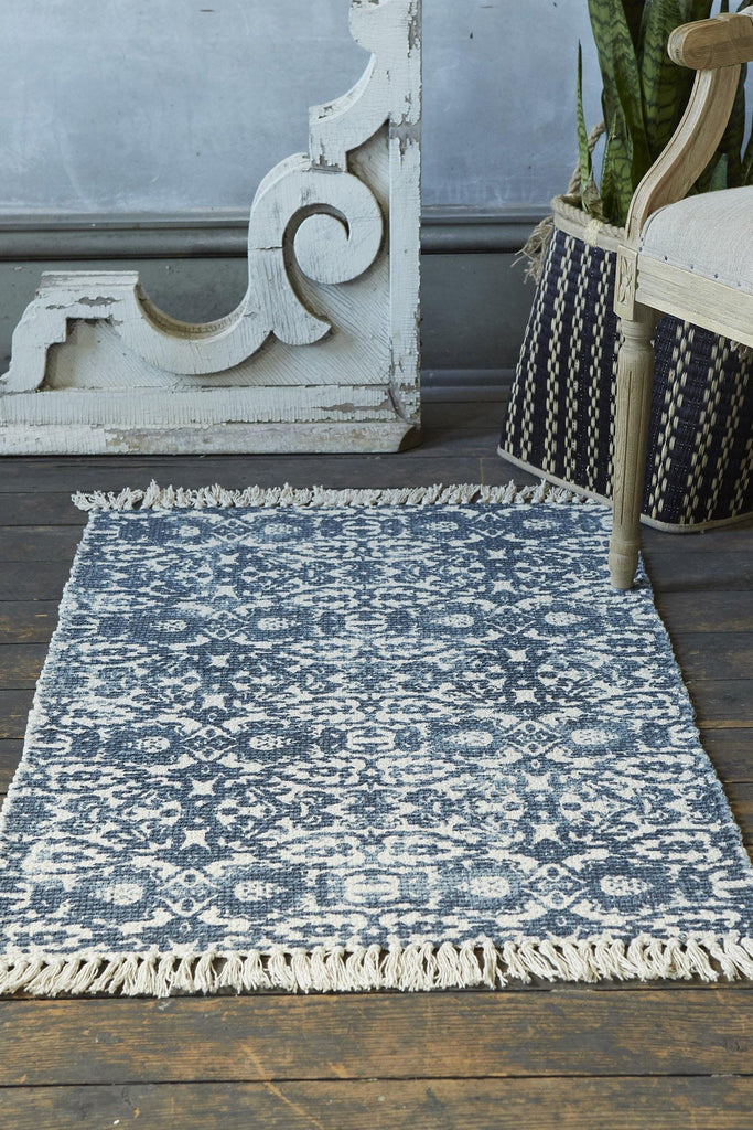 Erwin Accent Rug - Navy