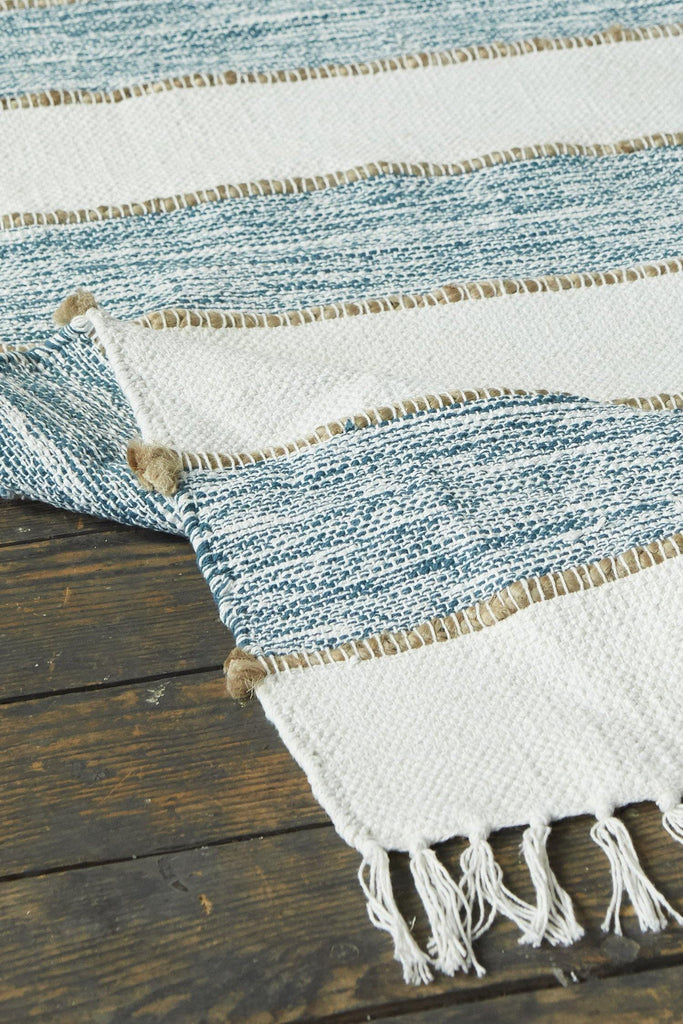 Natural Elegance Turquoise Accent Rug - Patina Vie