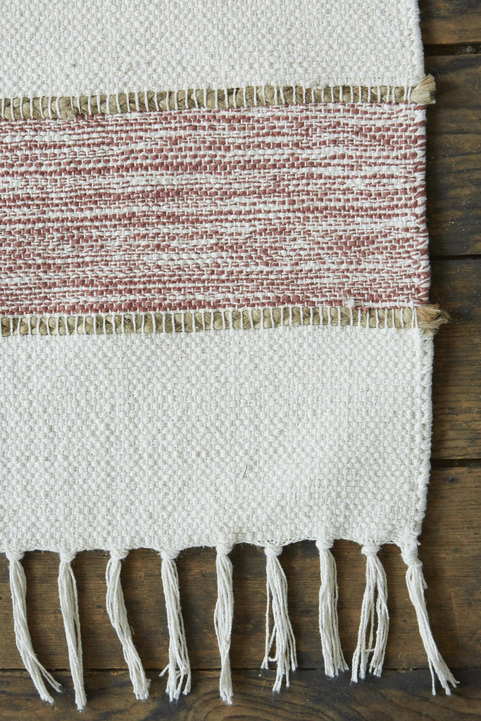 Natural Elegance Dusty Pink Accent Rug