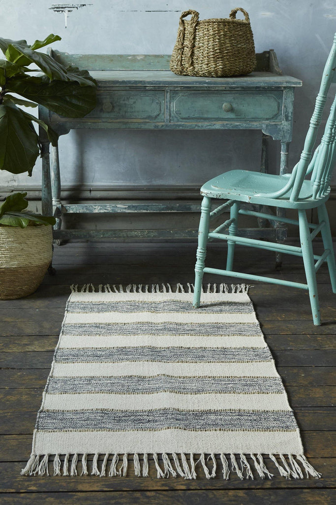 Natural Elegance Navy Accent Rug - Patina Vie